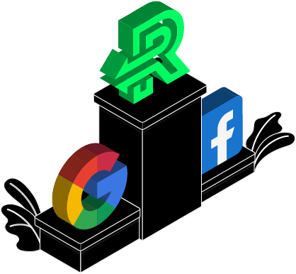 Google Facebook and ReverseAds